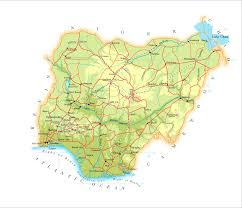 Map Of Nigeria Africa Index Of Country Africa Nigeria Maps