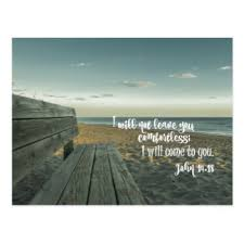 Bible Verse For Comfort Custom Comforting Bible Verses Postcards Zazzle Co Uk
