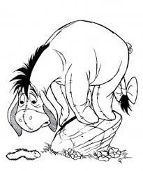 free printable eeyore coloring pages coloring