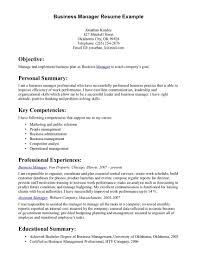 leadership resume example resume examples business template resume examples business