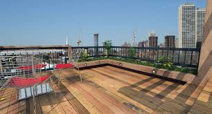 decorations patio rooftop design inspiration with brown