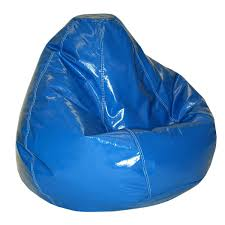 furniture bean bag chair with leather red chair cover and