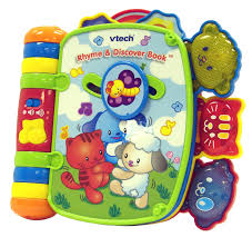 amazon com vtech rhyme and discover book toys u0026 games