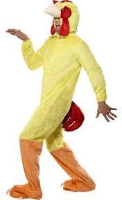 chicken halloween costumes funky chicken men u0027s fancy dress costume men u0027s chicken onesie
