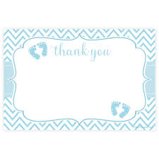 baby shower thank you cards blue boy baby shower thank you cards m h invites