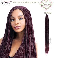 how many bags for big box braids 24 inch crochet 3x box braids hair extension crochet braids curly