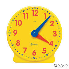 time learning clock time learning