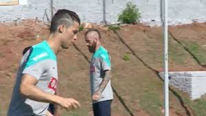cristiano ronaldo gets rid of the zig zag haircut and sports new
