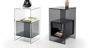 Modern Side Table Magique By Fiam Italia Modern Side Tables Linea Inc Modern