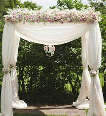 wedding arch decorations stylish ivory blush pink wedding