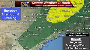 Austin Weather Map by Severe Storms Expected Later Today Wednesday And Thursday
