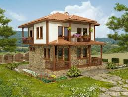 2 Storey House Storey Traditional Bulgarian House