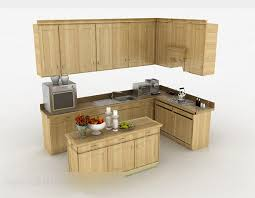 kitchen cabinet design simple simple wooden l shaped kitchen cabinet free 3d model max