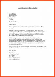 sample legal assistant cover letter 5 general administrative