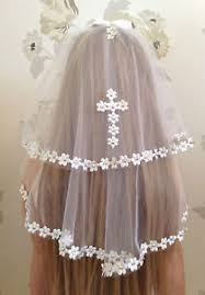 holy communion veils white communion veil accessory holy communion confirmation