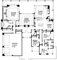 adobe floor plans beautiful sunken living room 16344md architectural designs
