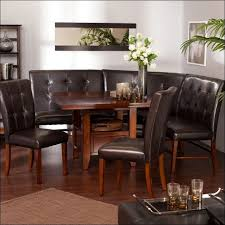 kitchen upholstered dining bench with back small kitchen table