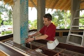 How To Build A Concrete Bar Top Bartop Concrete Countertops Blog