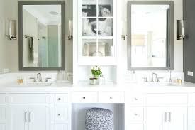 lofty white bathroom vanity mirror alluring round vanity mirror