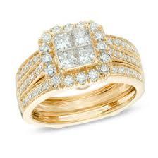 gold bridal sets bridal sets wedding zales
