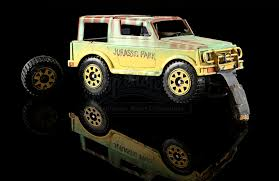 jurassic park car movie jurassic park animatics distressed explorer vehicle model
