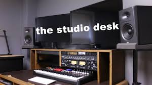 Recording Studio Desk by Setting Up The Studio Desk Youtube