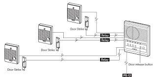 door release button for desk two door access system 2 door stations 1 master aiphone lef 3l