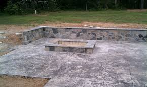 Fire Pit Rectangle Incredible Fire Pit Ideas On Rectangular Patio Including Should