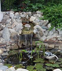 how to build a garden waterfall the garden inspirations