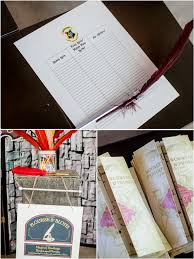 harry potter inspired 9th birthday party party ideas party