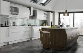 white gloss kitchen doors cheap premier duleek kitchen doors in high gloss white and brown