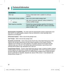 122 accu check instant user manual