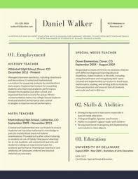 Example Of Teachers Resume by Sample Templates For Teacher Resume 062 Http Topresume Info