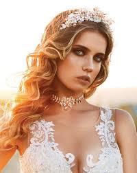 gold headpiece bridal headpiece lace and gold crown adonia by kezani
