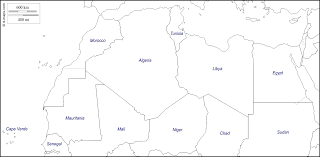 Empty Map Of Africa by North Africa Free Map Free Blank Map Free Outline Map Free