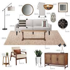 target living room furniture target budget living room emily henderson