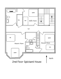 floorplan of a house awesome 2nd floor plans for spickard house radioritas