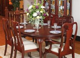 windham carved traditional formal dining room set cherry table