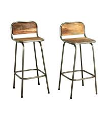 chaise bar tabouret de bar cuir et bois tabouret cuisine cuir tabouret de bar