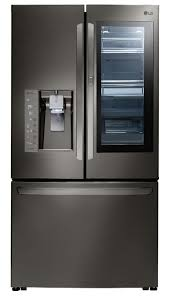 Small Commercial Refrigerator Glass Door by Lg Instaview Fridges Let You See Through Them With Just A Knock