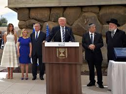 donald trump israel trump stresses unshakable bond between us and israel during