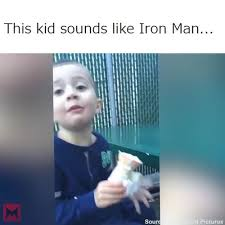 Meme Sounds - this kid sounds like iron man meme coub gifs with sound