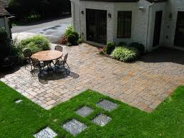 best brick patio design for new impression home decorating ideas