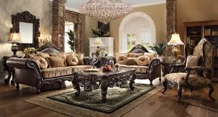 3280 homey design traditional sofa set