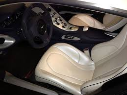 Aston Martin One 77 Interior Aston Martin One 77 Pearl White Cars