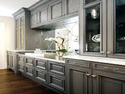 top 83 endearing grey kitchen cabinets white glossy tile designs