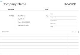 blank invoice template blank invoice pdf 100 free invoices to