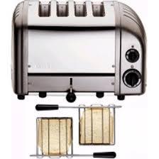 Dualit Toaster Not Working Dualit 2 X 2 Combi Vario 4 Slice Toaster Metallic Charcoal 42170