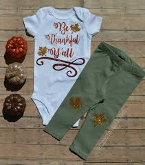 baby thanksgiving baby clothes thankful shirt