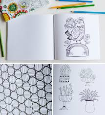 introducing a new coloring book from hallmark for grown ups